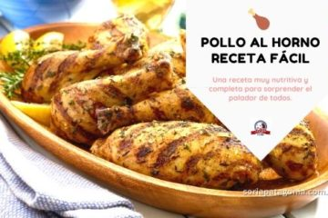 Pollo al horno receta fácil - carniceria soria