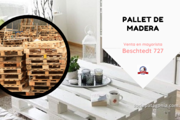 Pallets de madera - contiene ejemplo de mueble realizado con madera y link de sitio web