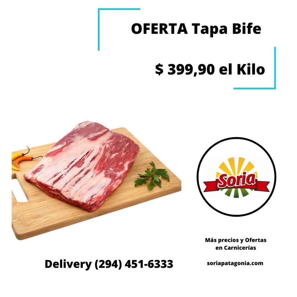 delivery bariloche oferta en tapa bife carnicería soria